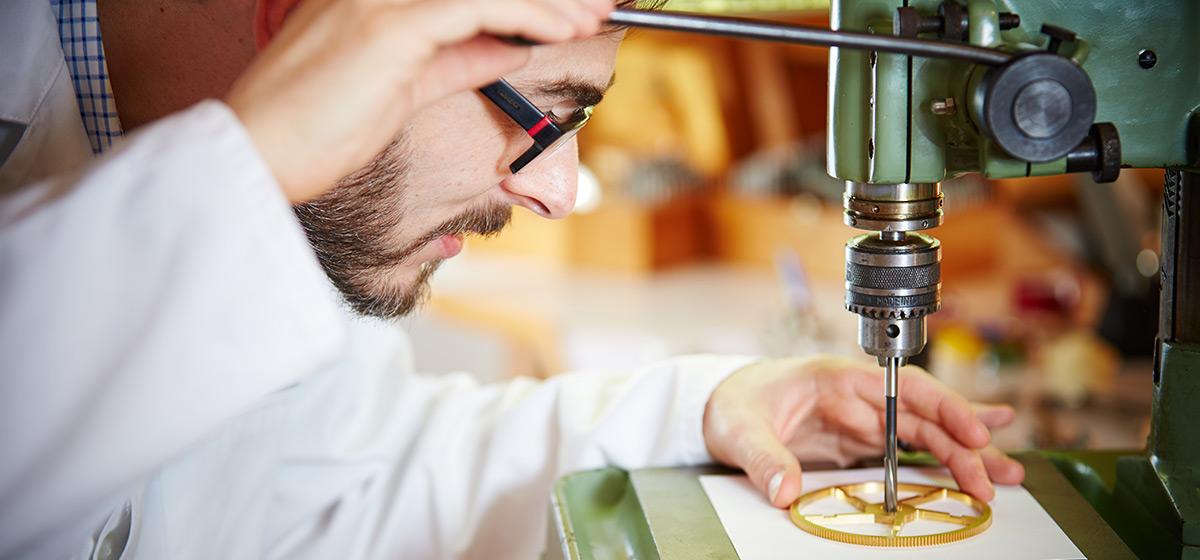 Anfertigung von Bauteilen Uhrenwerkstatt Dresden